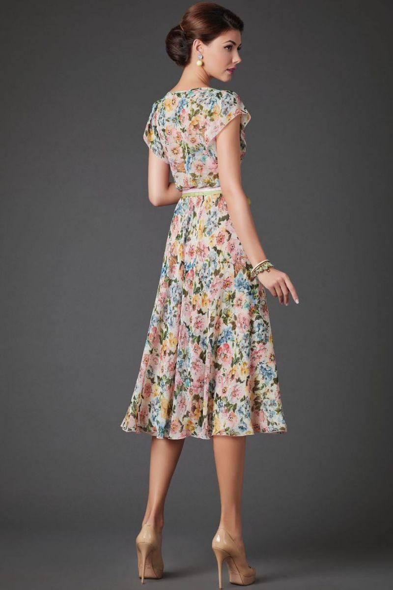 Модные Цветные Платья 2021