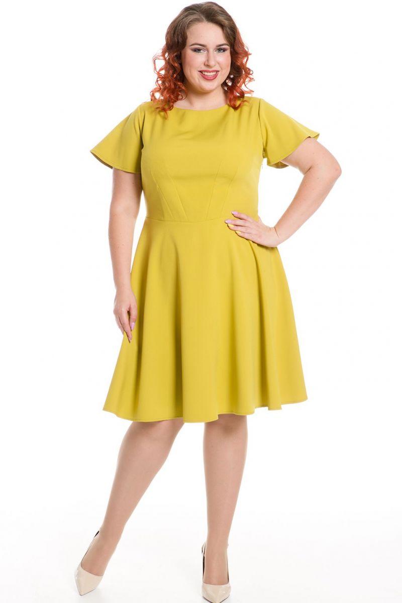 ваше желтое платье большого размера фото оформление задней